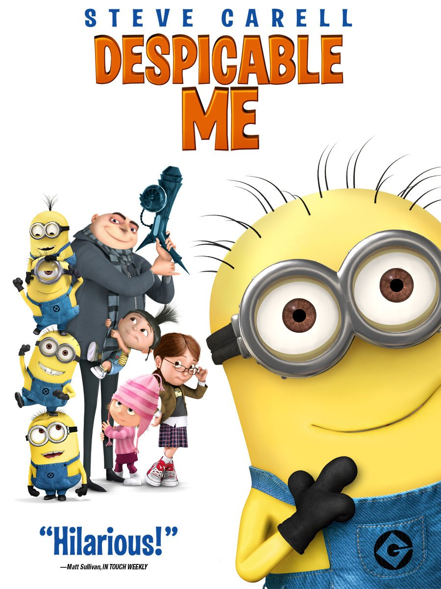 Amazon.com: Despicable Me 2: Steve Carell, Russell Brand, Kristen ...