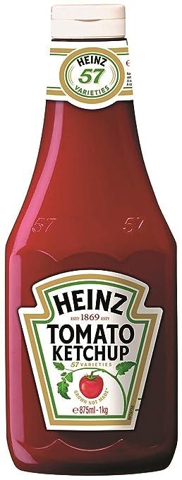 3 opinioni per Heinz Tomato Ketchup King Kong- Confezione da 8 Pezzi