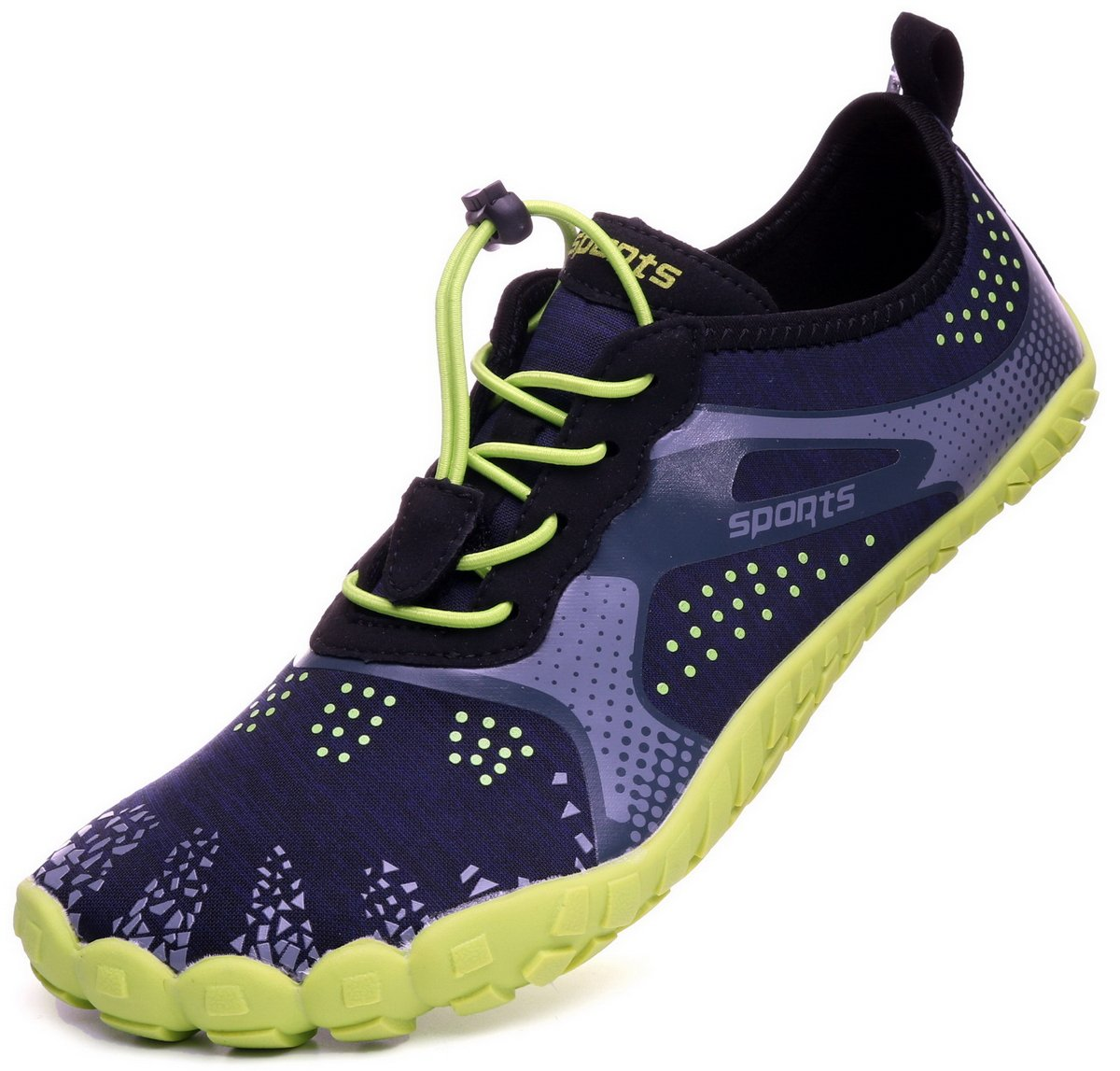 WHITIN Unisex Barefoot Shoes for Water Activities and Walking Jogging B07DVC3NH7 13 US Women's / 11 US Men's|Green