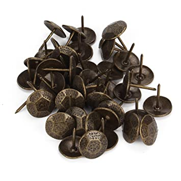 decorative studs for furniture. bqlzr bronze furniture decorative nails upholstery tacks studs pins 23x20mm pack of 50 for i