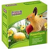 KAISER Hasenform ca. 0,5 l Frühling sehr gute Antihaftbeschichtung sicherer Standfuß praktische Befestigungsklammern