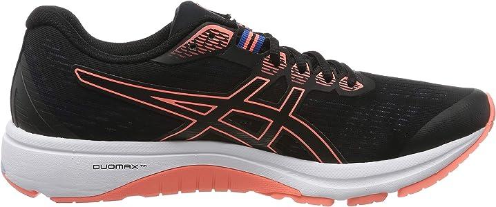 Asics Gt-1000 8, Zapatillas de Running para Mujer, Negro (Black/Sun Coral 003), 37 EU: Amazon.es: Zapatos y complementos