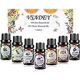 VSADEY Top 7 Aceites esenciales para humidificador Aceites esenciales aromaterapia Difusor aromaterapia SPA,Masajes…