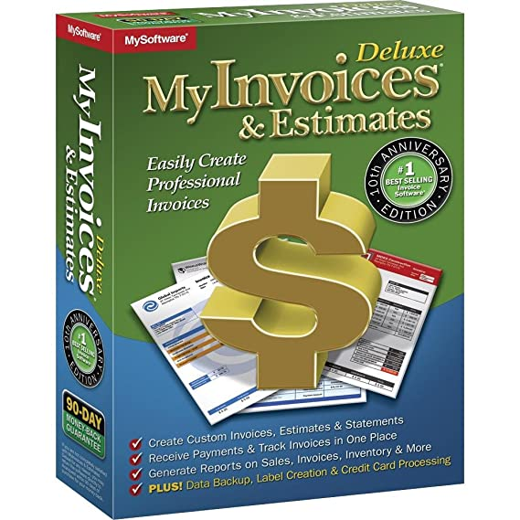 amazon com avanquest myinvoices estimates deluxe 10 windows