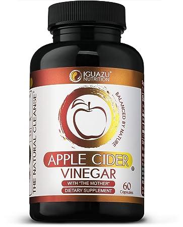 Amazon Com 100 Organic Apple Cider Vinegar Capsules With The