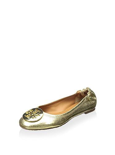 ae1ef5c35 get tory burch reva ballet flat craquelee leather shoes tb logo 5 27686  bda80