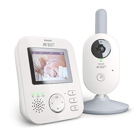 Philips Avent Vigilabebés con cámara SCD833/01 - Vigilabebés con vídeo digital con privacidad y