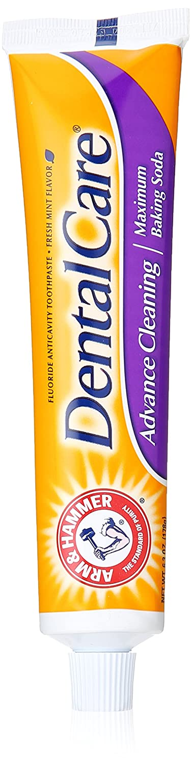 Arm & Hammer Dental Care Advance Cleaning Maximum Baking Soda Toothpaste Mint - 6.3 oz