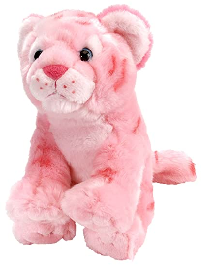 Amazon Com Wild Republic Cuddlekins Vibes 12 Pink Tiger Toys Games