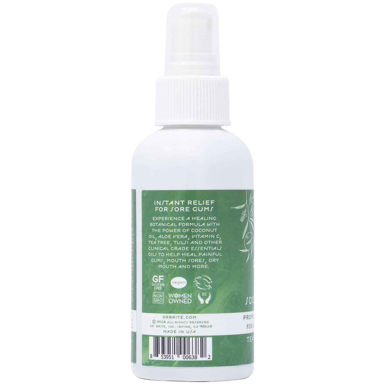 Dr  Brite Soothe & Restore Gum Spray With Tea Tree Oil (4 Fl Oz)
