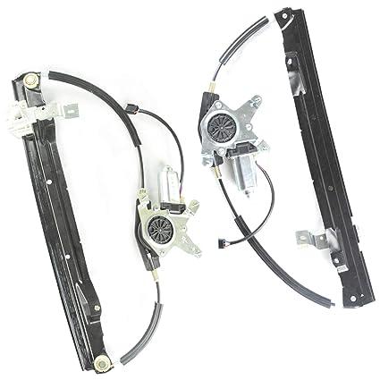 Rear Power Window Regulator w// Motor Passenger Side Right RH for Ford Lincoln