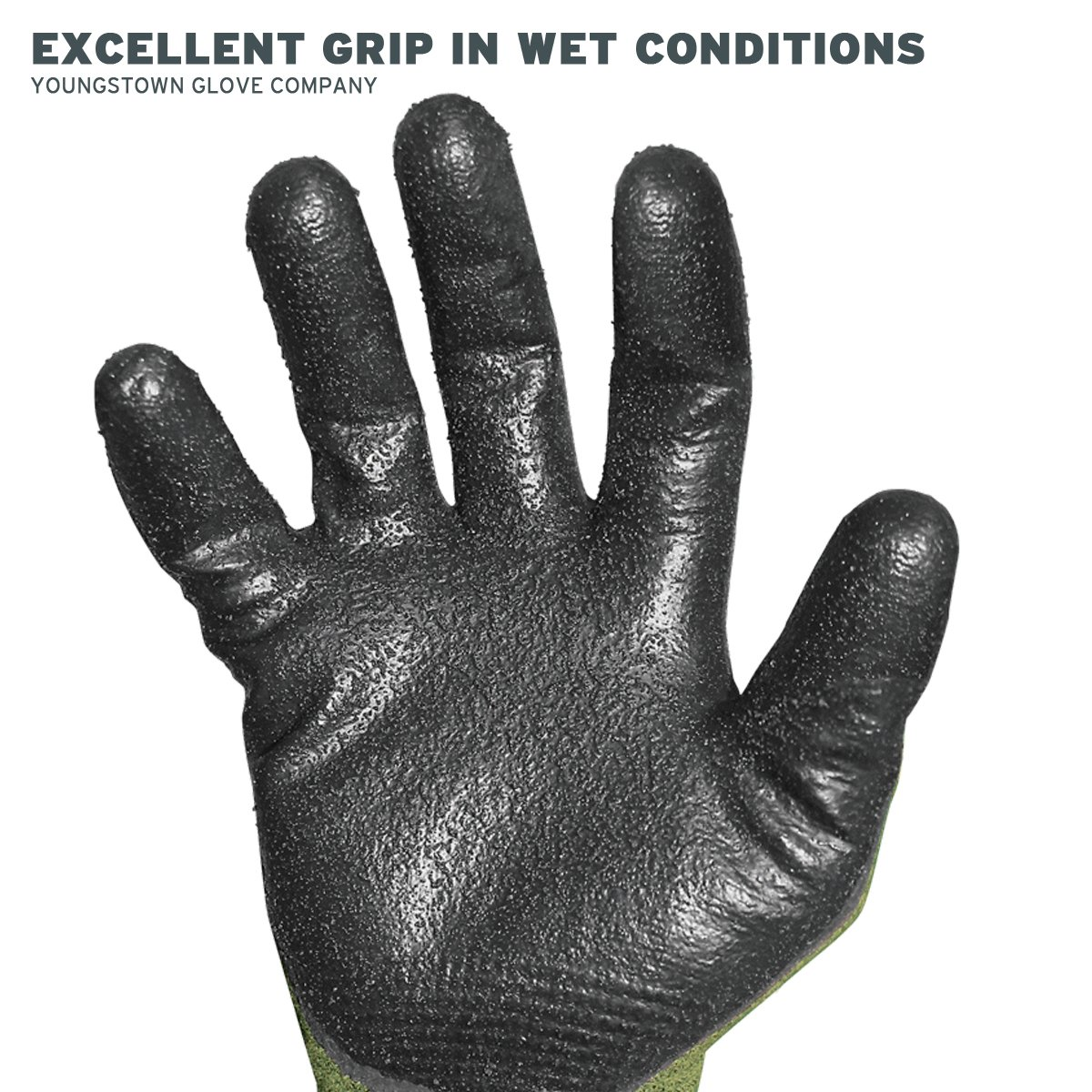 Youngstown Glove 12-4000-60-L FR 4000 Cut-Resistant Gloves, Large, Multicolored by Youngstown Glove Company (Image #4)