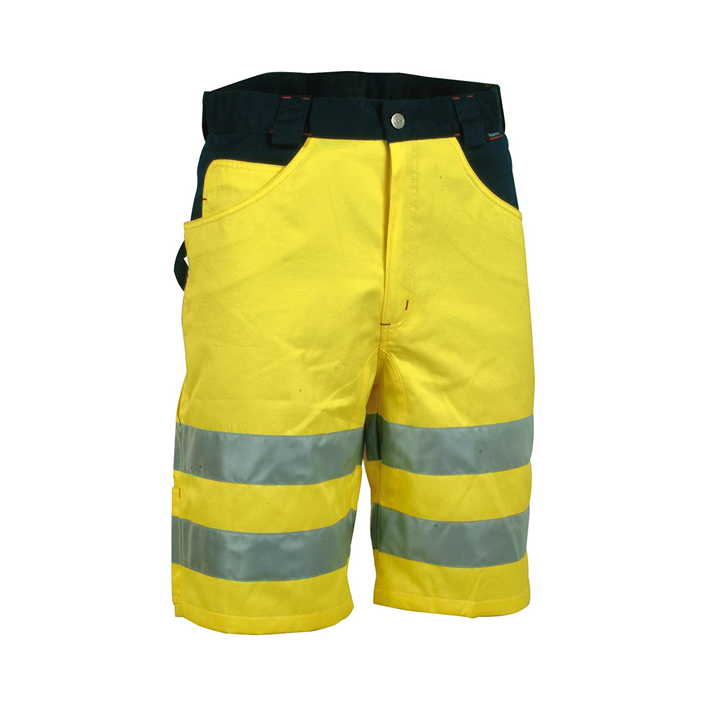 taglia produttore 44 Pantaloncini ad alta visibilit/à Arancione// Blu Cofra Shorts Visible V074/