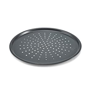 Chicago Metallic 16014 Non-Stick Perforated Pizza Crisper, 14-Inch diameter