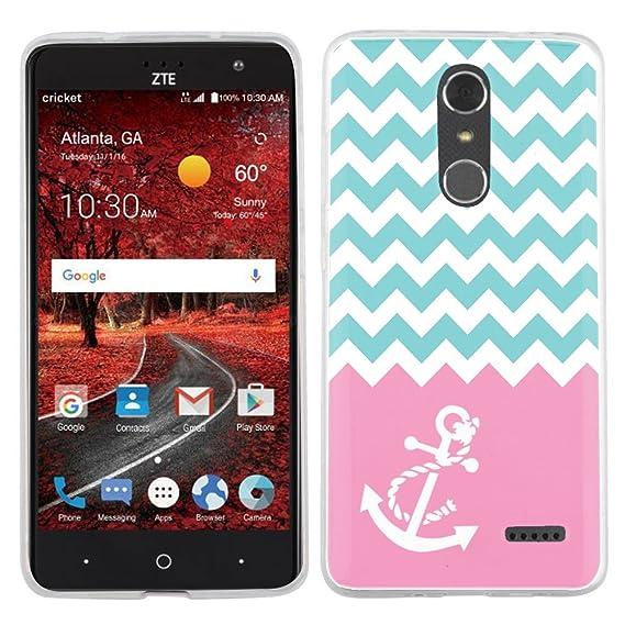 Fit ZTE Grand X4, One Tough Shield SLIM-FIT TPU Phone Case for ZTE