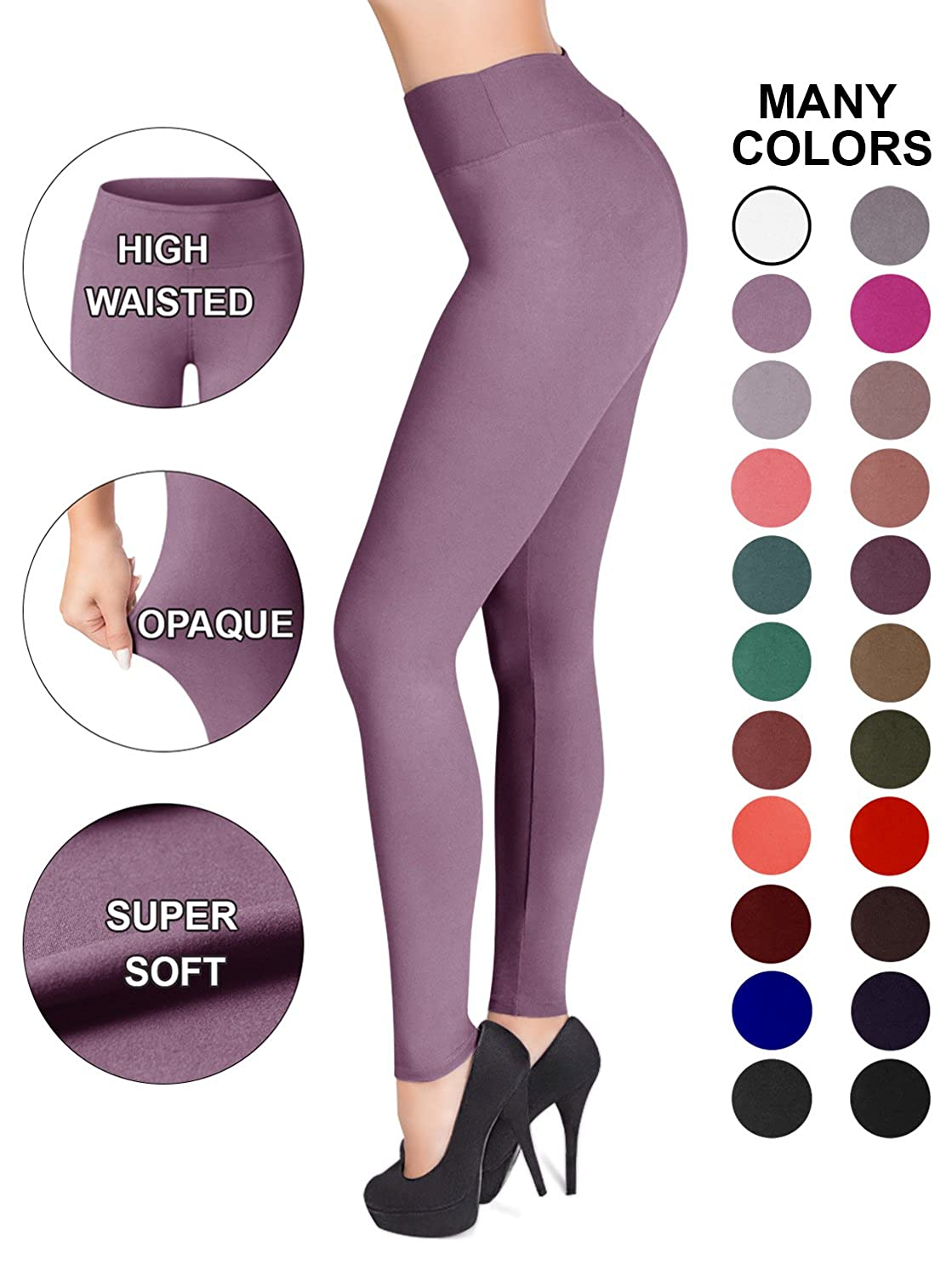 621636c23b117 ... Waistband Leggings are a must have. The high waisted waistband  comfortably hugs everything in for that sexy hourglass shape. You can also move  freely ...