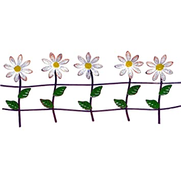 Amazon.com Daisy Fence, Color Options for Miniature Garden