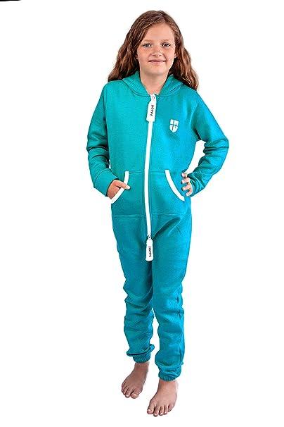 Gennadi Hoppe Kinder Jumpsuit Overall Jogger Trainingsanzug Mädchen Anzug Jungen Onesie