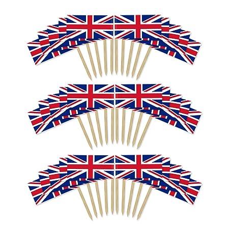 Union Jack palillo Banderas X 200/Queens Jubileo de/90 ...