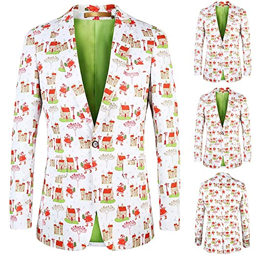Amazon Com Ugly Christmas Sweater Suits For Men Xmas Costumes