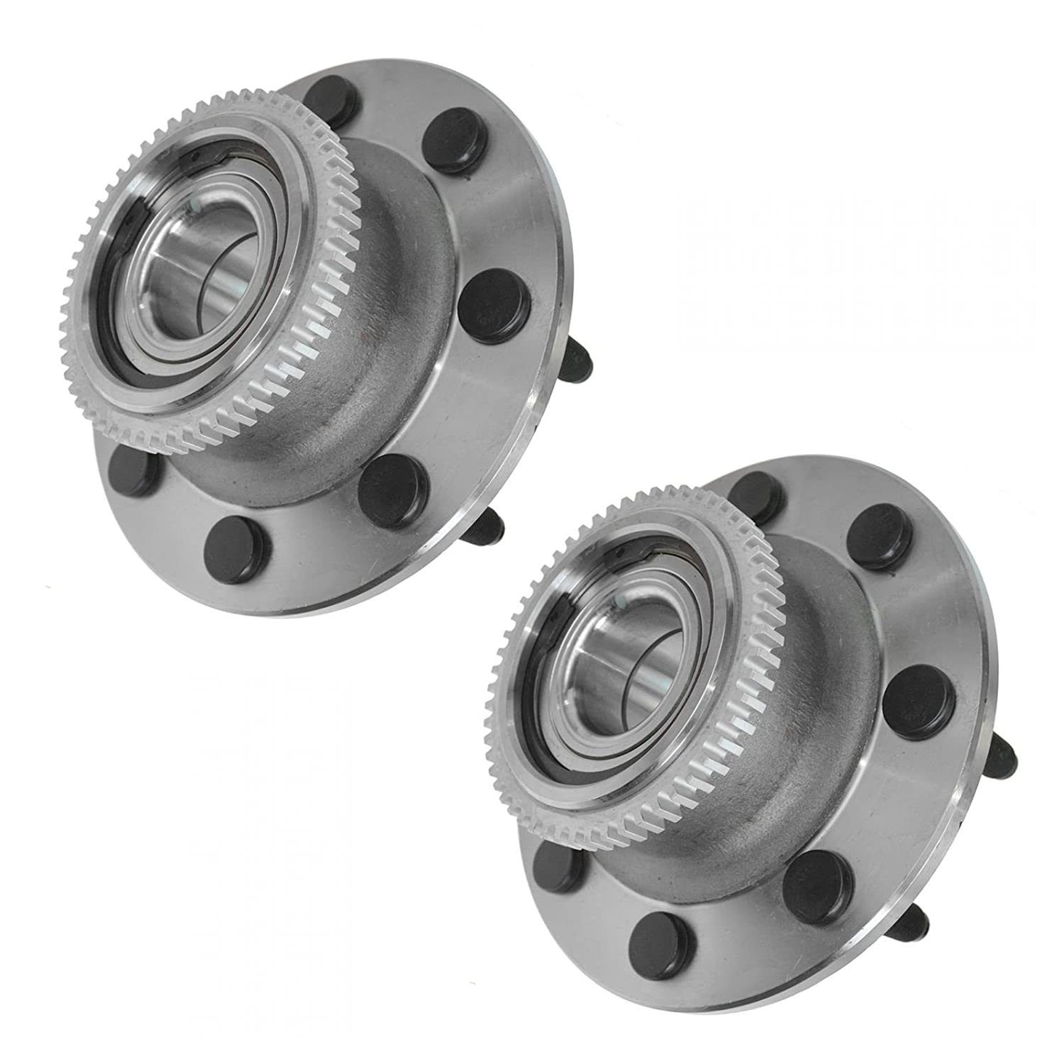 Front Wheel Hub /& Bearing LH /& RH Pair Set for 00-02 Dodge Ram 2500 3500 2WD