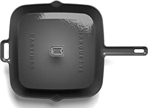 Marquette Castings Enameled Grill Pan with Press (Petosky Gray)