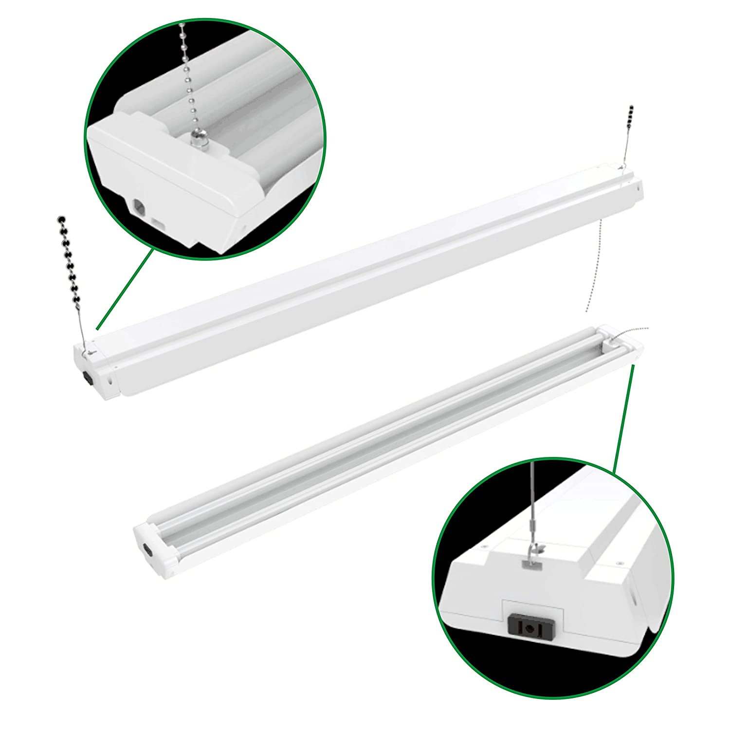 10 Best LED Garage Lights Review And Comparison 2018