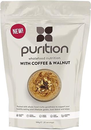 Purition Batido de proteínas de Café y Nogal (500g). Batido para ...