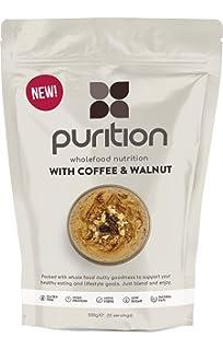 Purition Batido de proteínas de Café y Nogal (500g). Batido para el desayuno