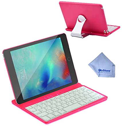 FlyStone IPad Mini Keyboard Bluetooth Case Cover Stand With - Abt ipad