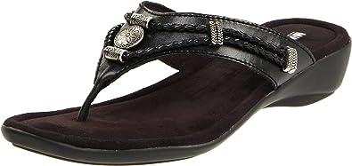 e4702832e32ee9 Minnetonka Women s Silverthorne Thong Sandal