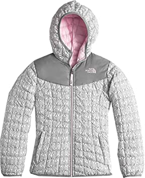 4693e15cd The North Face Reversible Thermoball Hoodie - Girls' (7294): Amazon ...