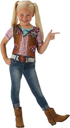 Disfraz de Rodeo Cowgirl para niña, camiseta - infantil 5-7 años ...