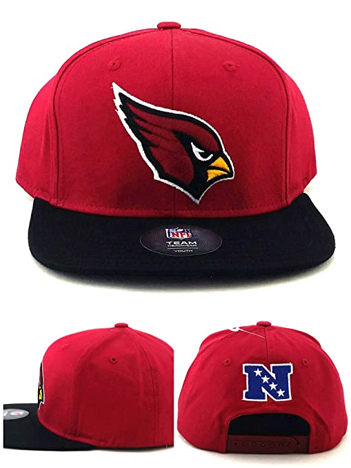 803b522d375 Image Unavailable. Image not available for. Color  Arizona Cardinals AZ New  NFL Youth Kids Red Black Era Snapback Hat Cap