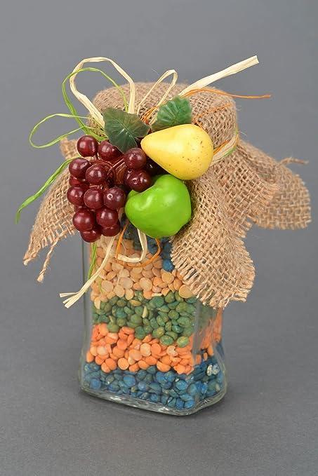 Amazon.com: Decorativo tarro con frijoles: Kitchen & Dining