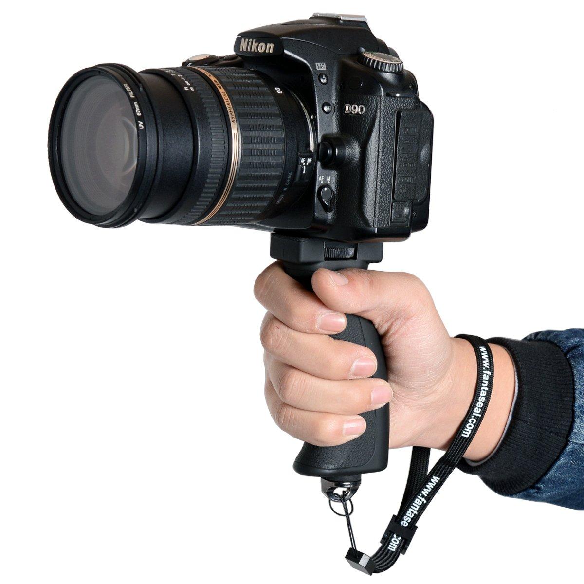 Fantaseal Action Camera Handheld Stabilizer Holder Ricoh Strap St 3 W Photo