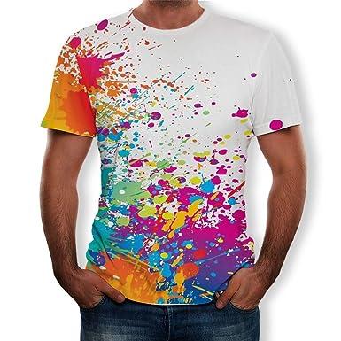 super popular 0a884 0755c Maglietta Uomo, T-Shirt Uomo, Moda Stampata Camicetta Polo ...