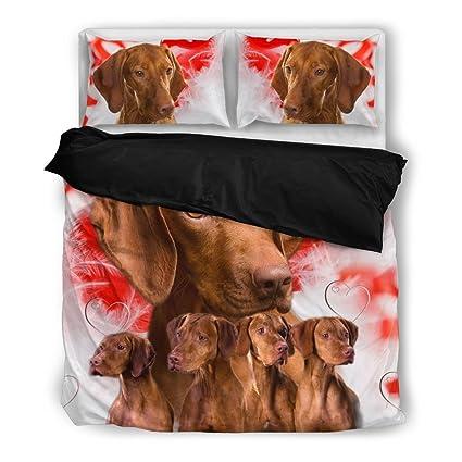 Vizsla juego de ropa de cama, diseño de perro los amantes regalos – personalizado para