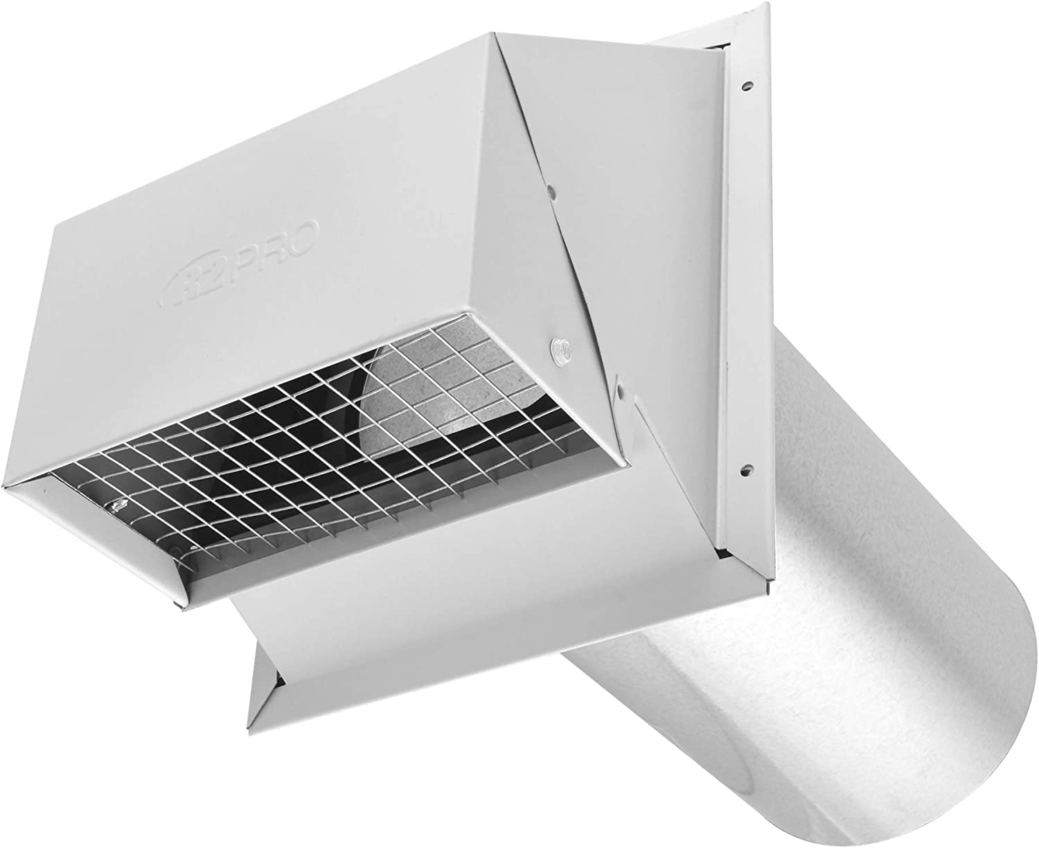 Imperial VT0503 6-Inch Heavy-Duty Outdoor Exhaust Vent with Intake Hood Conversion, 1-Pack