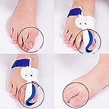 CareforYou® Night Time Splint Big Toe Straightener Bunion Hallux Valgus Corrector Regulator Stretcher Support Separators Foot Care Pain Relief