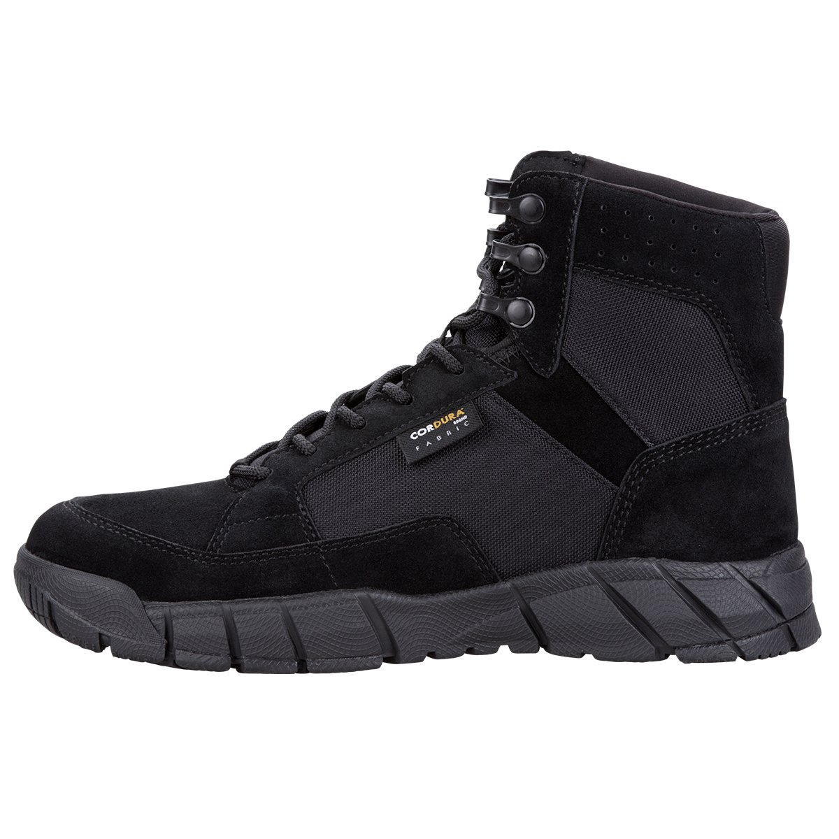 FREE SOLDIER Men's Tactical Boots 6'' inch Lightweight Military Boots for Hiking Work Boots Breathable Desert Boots (Black, 12.5) by FREE SOLDIER (Image #8)