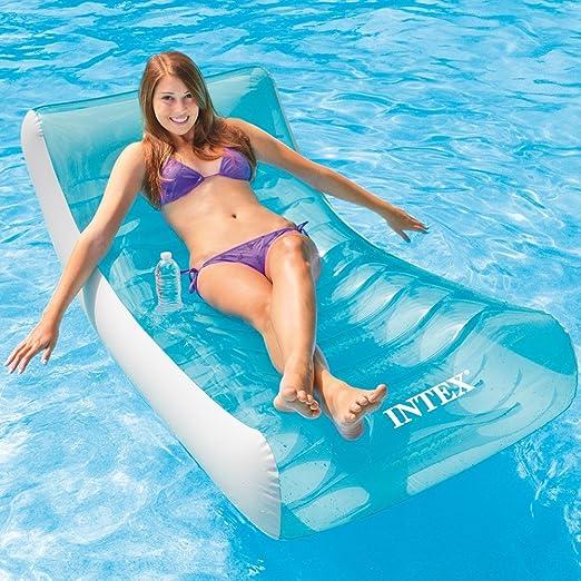 Colchón de piscina hinchable Intex 58856 NP: Amazon.es: Jardín