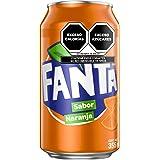 Fanta de Naranja, Refresco Sabor Naranja, 12 Pack - 355 ml/lata