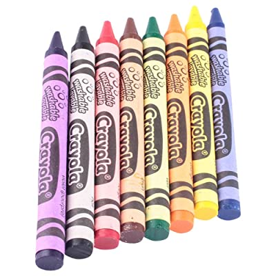 Crayola Wash Crayon Size 8ct: Toys & Games