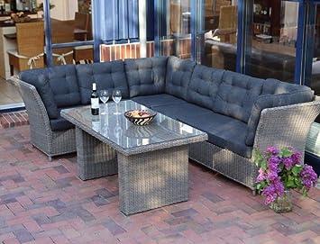 Amazonde Lounge Auckland Gartenmöbel Mit Polster Inkl Sofa