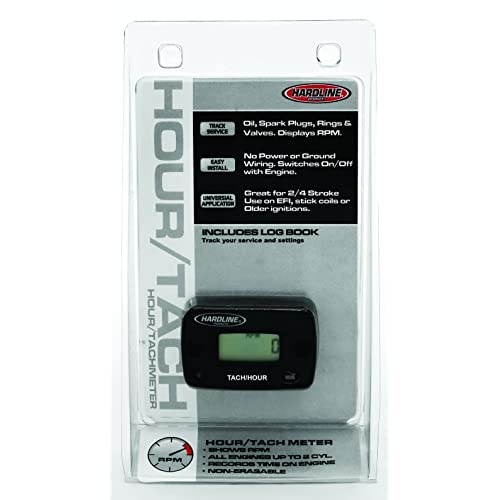 outboard tachometer amazon com hardline products hr 8061 2 hour meter tachometer for up to 2