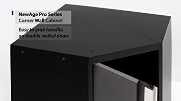 Amazoncom NewAge Products 52001 Pro 30 Series Corner Wall Cabinet