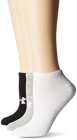 Under Armour Solid 6 Pks No Show Calcetines, Mujer, Gris, M: Amazon.es: Deportes y aire libre