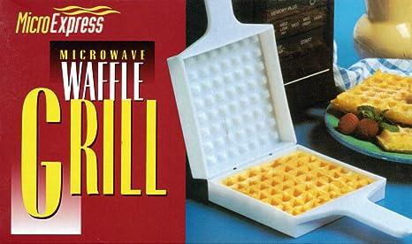 Amazon.com: Vintage microondas para parrilla Waffle: Kitchen ...