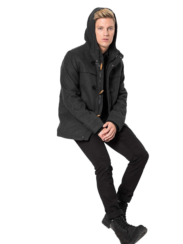 TOM TAILOR Denim für Männer Jacken Jacken Jacken & Jackets Dufflecoat mit Kapuze B07JK2G31L Mntel Flagship-Store cbd1f3